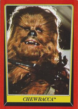 1983 Topps Return Of The Jedi #7 Chewbacca Front