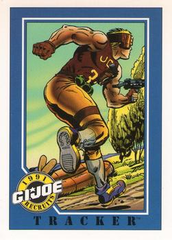 1991 Impel G.I. Joe #136 Tracker Front