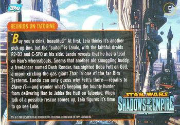 Xizor Summons Jabba #10 Star Wars Shadows Of The Empire 1996 Topps Card