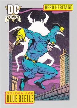 1992 Impel DC Comics #1 Blue Beetle Front