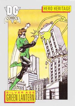 1992 Impel DC Comics Cosmic #8 Green Lantern Front
