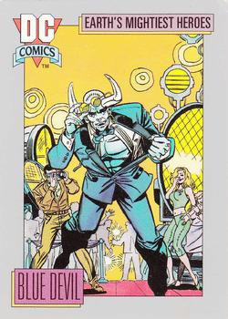 1992 Impel DC Comics #37 Blue Devil Front