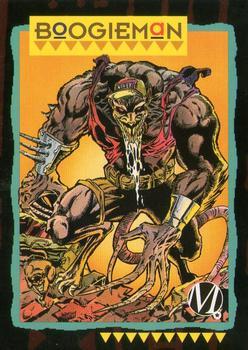 1993 SkyBox Milestone: The Dakota Universe #86 Boogieman Front