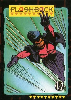 1993 SkyBox Milestone: The Dakota Universe #87 Flashback Front