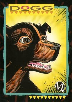 1993 SkyBox Milestone: The Dakota Universe #91 Dogg Front