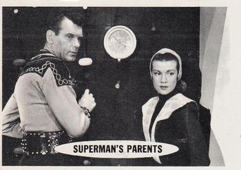 1966 Topps Superman #3 Superman's Parents Front