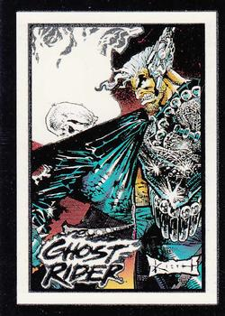 1992 Comic Images Ghost Rider II - Glow in the Dark #G9 Cable Front