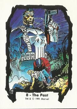 1991 Comic Images Marvel Comics Jim Lee II #8 The Past Front