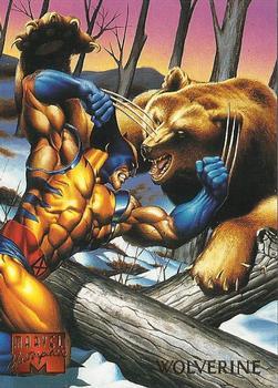 1995 Marvel Masterpieces Trading Card  Promo  WOLVERINE  OVERSIZED PROMO CARD
