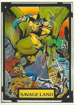 1988 Comic Images Marvel Universe III Wolverine #6 Savage Land Front