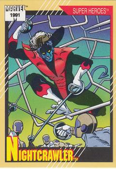 1991 Impel Marvel Universe II #11 Nightcrawler Front