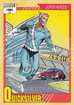 1991 Impel Marvel Universe II #25 Quicksilver Front
