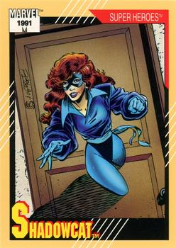 1991 Impel Marvel Universe II #9 Shadowcat Front