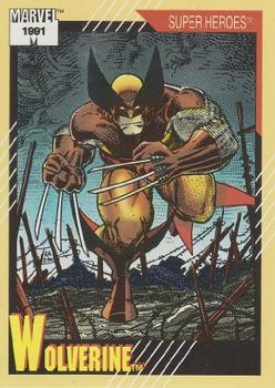 1991 Impel Marvel Universe II #50 Wolverine Front