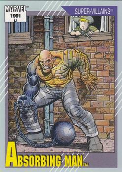 1991 Impel Marvel Universe II #74 Absorbing Man Front