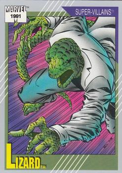 1991 Impel Marvel Universe #87 Lizard Front