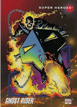 1992 Impel Marvel Universe #25 Ghost Rider Front