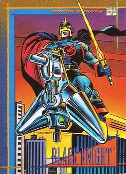 1993 SkyBox Marvel Universe #91 Black Knight Front