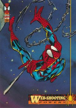 Vulnerable To Sonics #10 The Amazing Spider-Man 1994 Fleer Trading Card