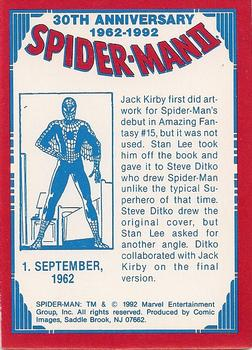 30th anniversary spider man cards