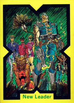 1991 Comic Images X-Force #23 New Leader (Cable) Front