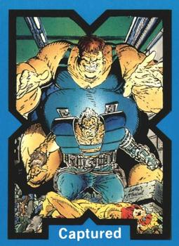 1991 Comic Images X-Force #36 Captured Front