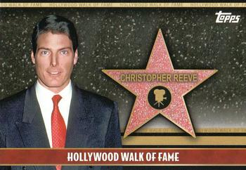 2011 Topps American Pie - Hollywood Walk of Fame #HWF-5 Christopher Reeve Front