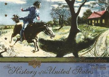 2004 Upper Deck History of the United States #TR6 Paul Revere Front