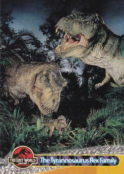 1997 topps the lost world jurassic park non sport for T rex family