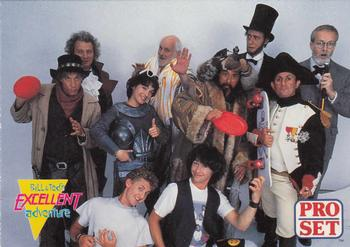 1991 Pro Set Bill & Ted #46 Bill&TedSpeak: Totally Front