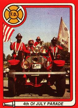 1981 K.F. Byrnes Fire Department #22 4th of July Parade Front