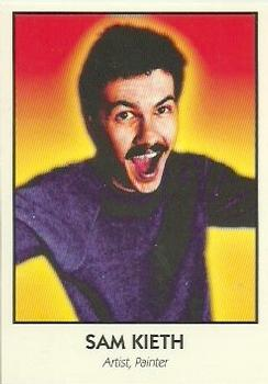 Sam Kieth #87 Famous Comic Book Creators 1992 Eclipse Trading Card