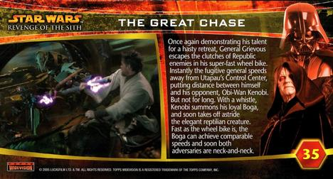 Star Wars Revenge Of The Sith Widevision Promo Card P1
