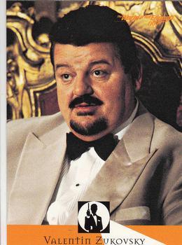 1999 Inkworks James Bond The World Is Not Enough #86 Valentin Zukovsky Front