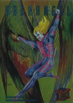 1995 Fleer Ultra X-Men - Sinister Observations #1 Archangel Front