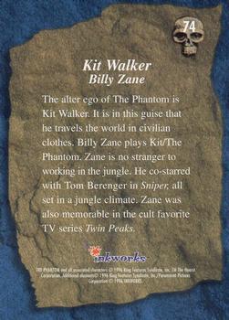 C1503 The Shaman #7 The Phantom Movie 1996 Inkworks Trade Card