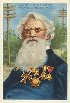 1911 Heroes of History/Men of History (T68) #29 Samuel Morse Front