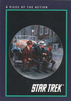 1991 Impel Star Trek 25th Anniversary #141 A Piece of the Action Front