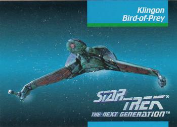 1992 Impel Star Trek Next Generation #31 Klingon Bird-of-Prey Front