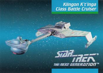 1992 Impel Star Trek Next Generation #32 Klingon K't'inga Class Battle Cruiser Front