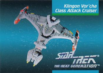 1992 Impel Star Trek Next Generation #33 Klingon Yor'cha Class Attack Cruiser Front