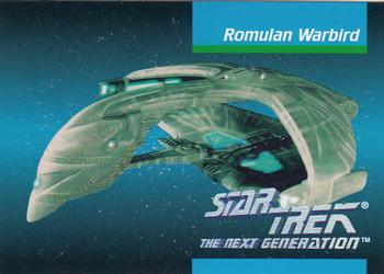 1992 Impel Star Trek Next Generation #34 Romulan Warbird Front