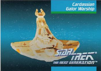 1992 Impel Star Trek Next Generation #38 Cardassian Galor Warship Front