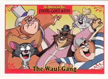 1991 Impel An American Tail Fievel Goes West #24 The Waul Gang Front