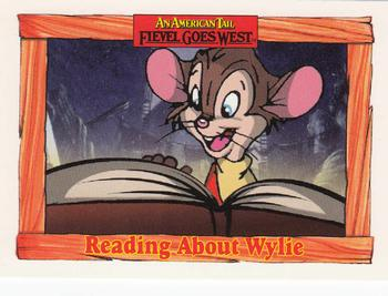 1991 Impel An American Tail Fievel Goes West #29 Reading About Wylie Front