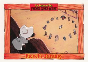 1991 Impel An American Tail Fievel Goes West #30 Fievel's Fantasy Front