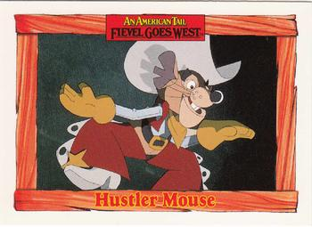 1991 Impel An American Tail Fievel Goes West #46 Hustler Mouse Front