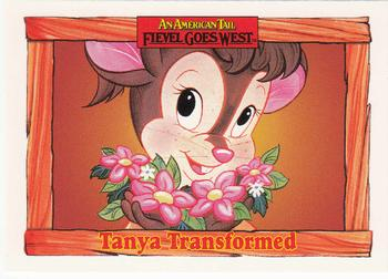 1991 Impel An American Tail Fievel Goes West #81 Tanya Transformed Front