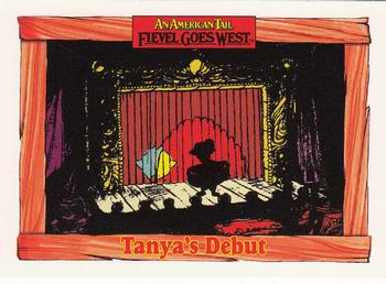 1991 Impel An American Tail Fievel Goes West #82 Tanya's Debut Front