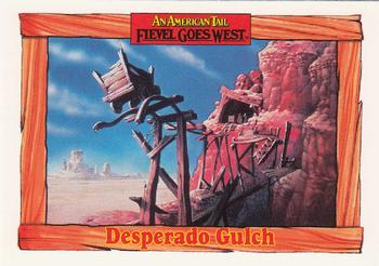 1991 Impel An American Tail Fievel Goes West #85 Desperado Gulch Front